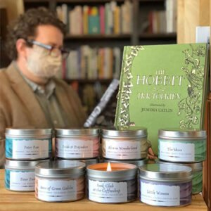 Hills and Hamlet Book Store Candles and Books
