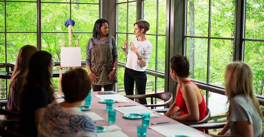 Women's Leadership Retreats in Serenbe